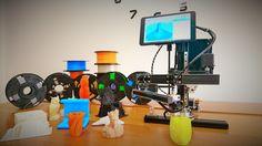 ARMBOT: Affordable Robotic Arm 3D Printer running Windows project video thumbnail