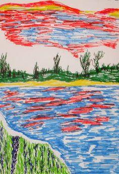 "Saatchi Art Artist Rose Pinkie; New Media, ""Reflections"" #art"