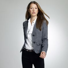 Jones New York: Jackets & Coats > Tweed Jacket