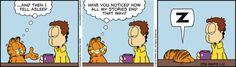 Garfield Cartoon for Jan/12/2015