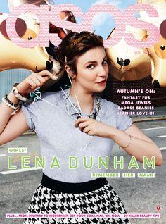 Fash Mob » Lena Dunham covers Asos magazine