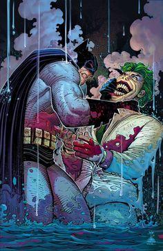 The Dark Knight III - The Master Race #1 variant cover by John Romita Jr.