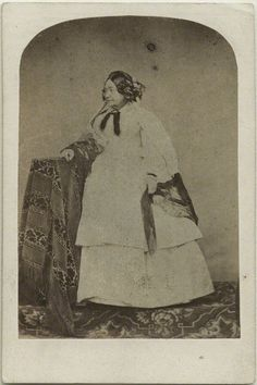 ''Queen Victoria's mother; Victoria, Duchess of Kent''. Women who retained the basic corseted shape of their younger years could wind up looking very odd.