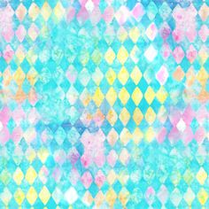 Washed Watercolor Triangle Rain fabric by parisbebe on Spoonflower - custom fabric