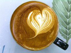 Latte art - serduszko