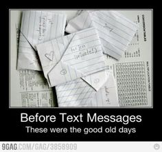 Aww I miss those days...but I still wouldn't give up my Phone