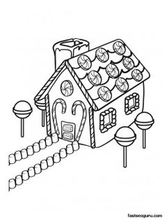 printable christmas gingerbreads house coloring sheet printable coloring pages for kids