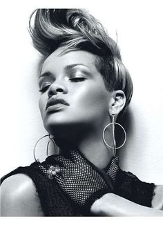 Rocking Out With Rihanna in W Magazine #Rihanna #Celebrity