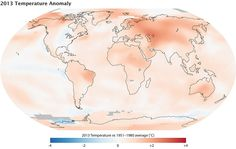 The 19 best climate data images on pinterest climate change 2013 fourth warmest year on record freerunsca Gallery