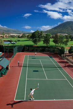 Tennis anyone?  Hilton Resort Sedona