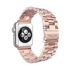 Aviato Apple Watch PREMIUM Edelstahl Armband 42 mm roségold - http://on-line-kaufen.de/aviato/aviato-apple-watch-premium-edelstahl-armband-42-4