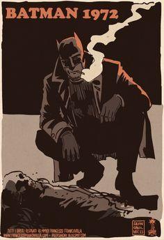 Batman 1972 Francesco Francavilla