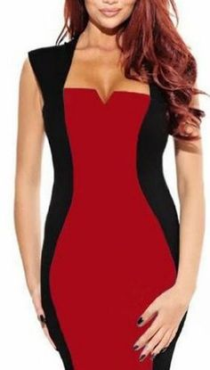 WIIPU Women Rockabilly Stylish Square Neck Clubwear Party Pencil Wiggle Dress(J275)- Xlarge red WIIPU,http://www.amazon.com/dp/B00HIK9Q28/ref=cm_sw_r_pi_dp_4v6Atb1ZP31V2RZQ
