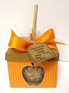 candy apples - such a cute fall favor for a wedding or shower