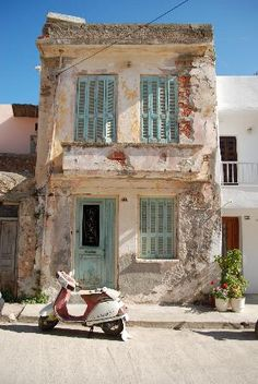 Old house in Rethymno #travel
