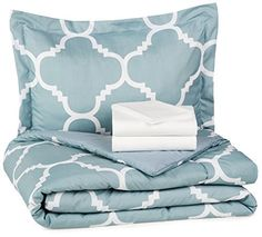 AmazonBasics 5-Piece Bed In A Bag - Twin/Twin XL by AmazonBasics…