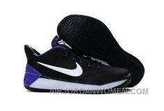 ca4005f8c93a Nike Kobe A.D. 12 KB 24 Black Purple White Cheap To Buy 4yWWt8