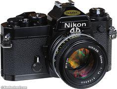 Nikon FE - I think I had one of these!