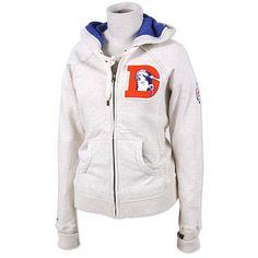 Mitchell & Ness Denver Broncos Women's Training Camp Hooded Sweatshirt - NFLShop.com