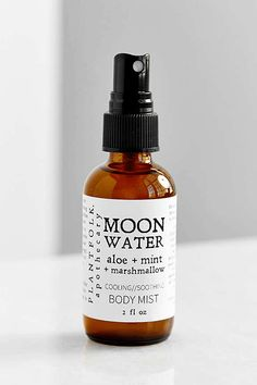 """Formulated with aloe vera and floral waters, this body mist cools the physical body, but is also meant to soothe your """"over-heated spirit."""" Keep it within reach the next time you're home in bed on a mental-health day.Plantfolk Apothecary Moon Water, $18, available at Urban Outfitters.  #refinery29 http://www.refinery29.com/witch-products-makeup-skin-care-mystical#slide-9"""