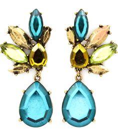 Farrah Earrings from www.bohypsy.com