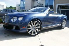 2014 Bentley ContinentalGTC Base AWD 2dr Convertible Convertible 2 Doors Crystal Blue for sale in Naples, FL Source: http://www.usedcarsgroup.com/used-bentley-for-sale-in-naples-fl