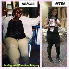 Caroline Jhingory weight loss interview