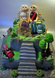 48052060 romantic garden creative cake art wedding cakes