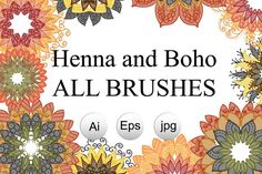 Henna and Boho All Brushes @creativework247