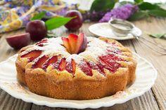 Sweet Cinnamon Plum Cake