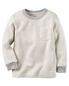 Kid Boy Long-Sleeve Thermal Tee from Carters.com. Shop clothing & accessories from a trusted name in kids, toddlers, and baby clothes.
