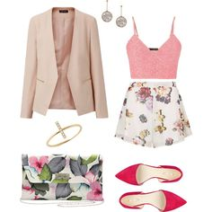 Blomster by ramona-damian on Polyvore featuring polyvore, fashion, style, maurices, Oh My Love, Nine West, M&Co and STELLA McCARTNEY