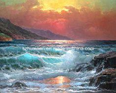 -Pintura-al-leo-S1-del-paisaje-marino.jpg (650×523)