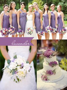 Lavender wedding @Savannah Hall Maxwell this is for you