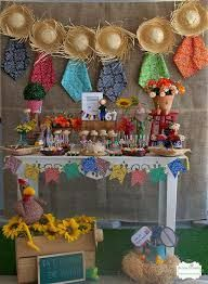 Resultado de imagem para enfeites festa junina