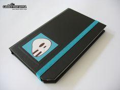 caderneta black para guilherme barros | por Cadernorama