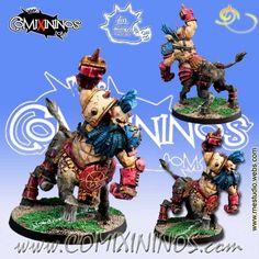 Kaos Dwarves - Bull Centaur nº 1 - Meiko Miniatures