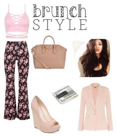 bunch style by saraiwilliams-sock on Polyvore featuring polyvore fashion style STELLA McCARTNEY Black Coral Jessica Simpson Givenchy Royce Leather clothing