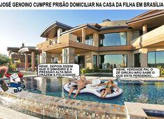 José Genoino aguarda, na casa da filha, decisão sobre prisão domiciliar