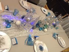 Frozen - winter wedding design palette - bridal show - wedding expo - waterloo, Ontario - snowflakes - favours - guest favors - silver - blue - turquoise - wedding decorations - wedding decor - ontario wedding planner - stationary - design - icicles - bling - wedding decorator - canada Waterloo Ontario, Design Palette, Stationary Design, Wedding Decorations, Table Decorations, Bling Wedding, Bridal Show, Favours, High Gloss