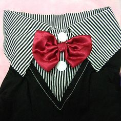 Find exactly what you need to embellish your pet with our new pet accessories. This accessory in particular features a gentleman like two-piece suit with a colo Red Bow Tie, Boy Dog, New Puppy, Pet Clothes, Pet Accessories, Bows, Puppies, Suits, Bikinis