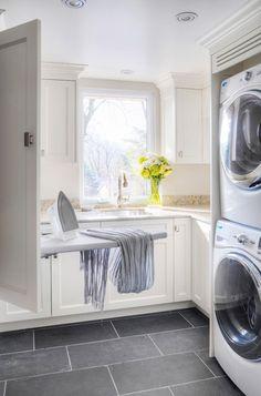 An Incredible Closet. Laundry Room Ideas. Interior Design: Braam's Custom