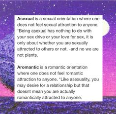 Dans traditional a romantic asexual definition