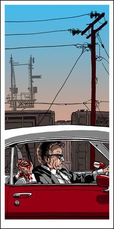 Reservoir Dogs - Mr Orange dying