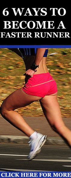 today I'm going to share with you some creative and awesome training guidelines to help you improve your running speed without logging in more miles. http://www.runnersblueprint.com/6-ways-to-become-a-faster-runner-without-increasing-mileage/ #Runners #Speed #Training
