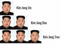Kim Jong Un Kim Jong Dos Kim Jong Tres