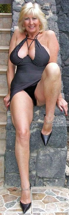 Sexy older women in nylons
