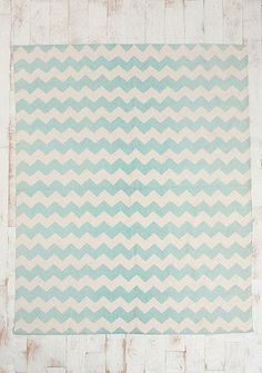 Chevron rug -- $19 urban outfitters