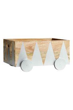 Caisse de rangement en bois | H&M