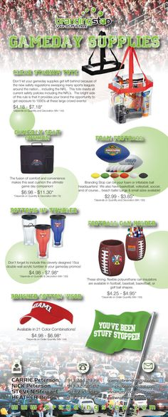 Our August 2014 Stuff Stop promotions